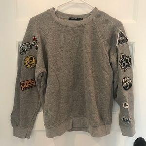 Obey Patch Sweatshirt